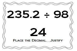 Classroom Freebies Too: Estimating to Build Decimal Number Sense