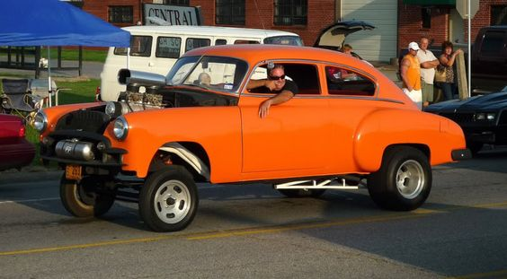 1950 Chevy Fleetline Gasser Gassers Rods Alters And