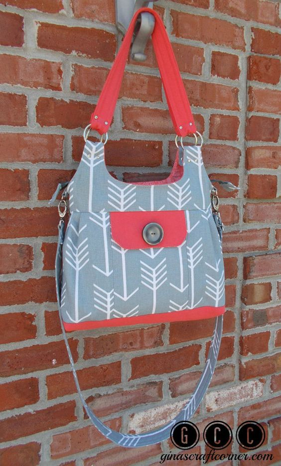 Concealed Carry Purse GCC Deluxe w/ Zipper by GCCginascraftcorner