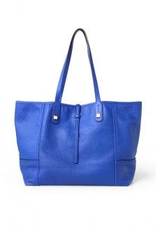 Paris Market Tote- Bright Cobalt:
