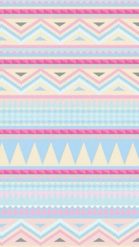 adorable girly shades tribal print wallpaper ...