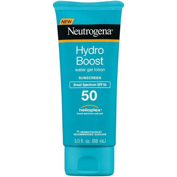 Neutrogena® Hydro Boost Water Gel Lotion Sunscreen Broad Spectrum SPF 50