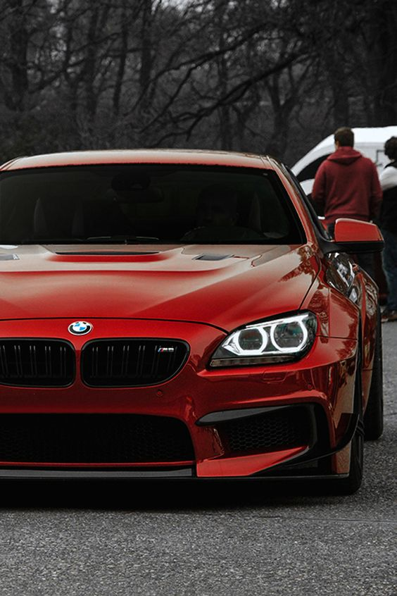 BMW M6 in Red ❤️