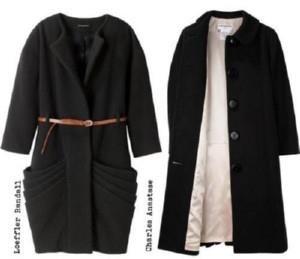 Викроики платья осеннего женского пальто