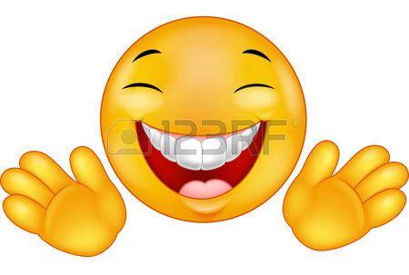 Happy emoticon smiley cartoon photo