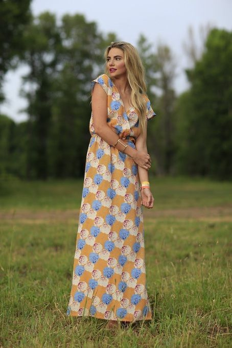 Delilah Maxi Dress from the Fall Collection by Shabby Apple