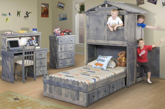 Noah 39 S Dream Bed Secret Clubhouse Twin Fort Bed For The
