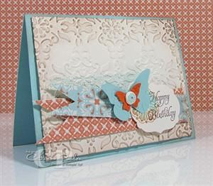 Paper crafting with Catherine Pooler...she is an amazing Crafter!!