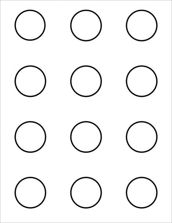 Image Result For 1 5 Macaron Template Macarrones Macarons