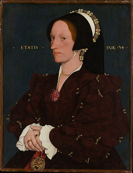14-12-11  Lady Lee (Margaret Wyatt, born about 1509)  Copy after Hans Holbein the Younger (English, 16th century)  Date: possibly ca. 1540 Medium: Oil on wood