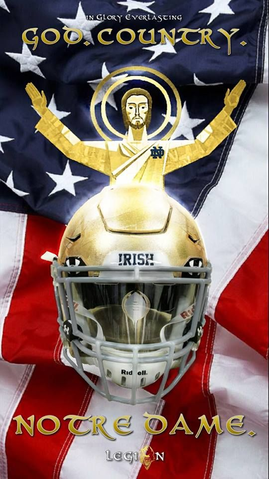 God Country Notre Dame Notre Dame Football Notre Dame Fighting Irish Fussball Helme