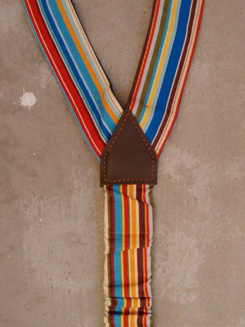 Rainbow Suspenders Striped Womens Suspenders Multicolored