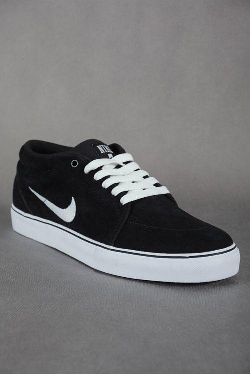 Nike Sb Shoes Black And White