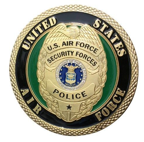 Us Mint Usaf United States Air Force Security Forces Badge