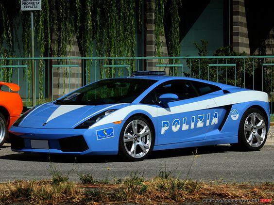 Italian Lamborghini Gallardo LP640-4 Polizia