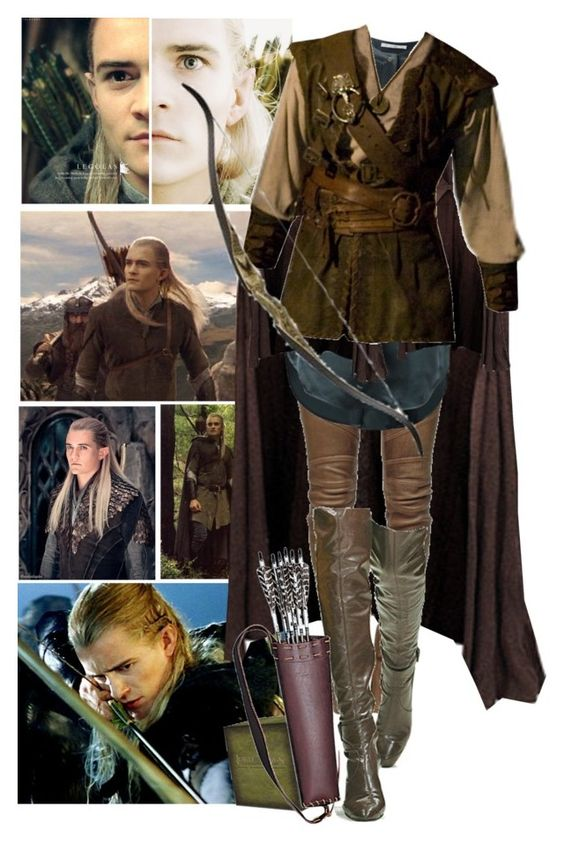 """""""Legolas"""" by kerry6590 ❤ liked on Polyvore featuring Greenleaf, Balmain and DuÅ¡an"""