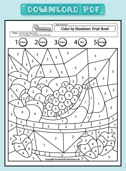Printables Esl Math Worksheets Pdf scheda di matematica con disegnofun and interactive preschool my free math worksheets will help teach counting numbers problem solving in exciting ways each is fun to color fu