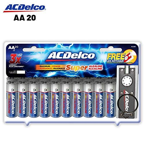 Acdelco Shop The Uix Network Acdelco Alkaline Battery Batteries