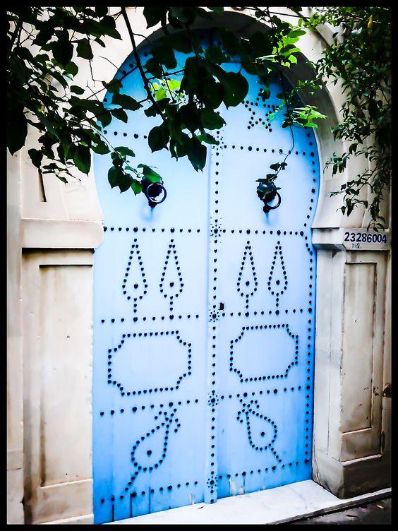 Blue Door Of The Mysteries