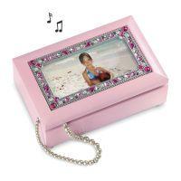 Girl's Pink Musical Jewelry Box