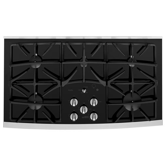 "GE Profile 36"" Ceramic Gas Cooktop"