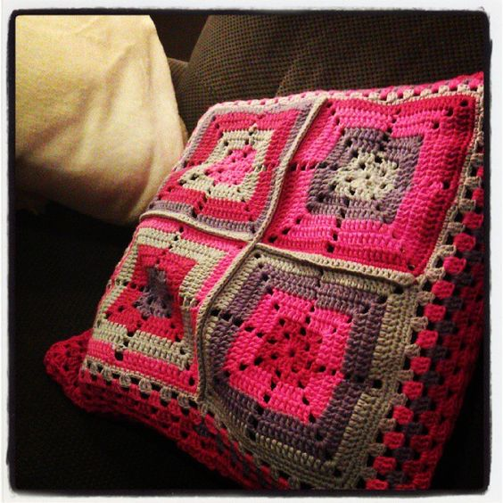 My new cushion (love the colors)