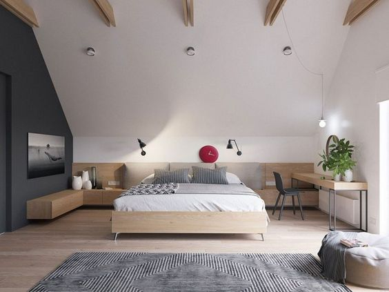 Die besten 25+ schräge Decke Ideen auf Pinterest Schlafzimmer - wandgestaltung dachschrge