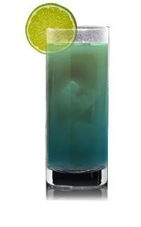 Blue Lust Recipe | 1 part Pucker Lemonade Lust Vodka, 4 parts Lemonade, 1/2 part DeKuyper Blue Curacao