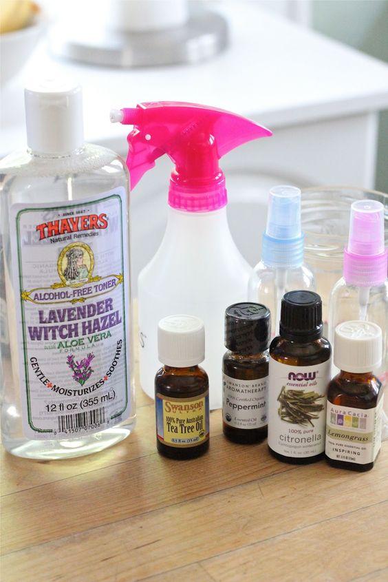 Eat Good 4 Life: Natural home made mosquito spray