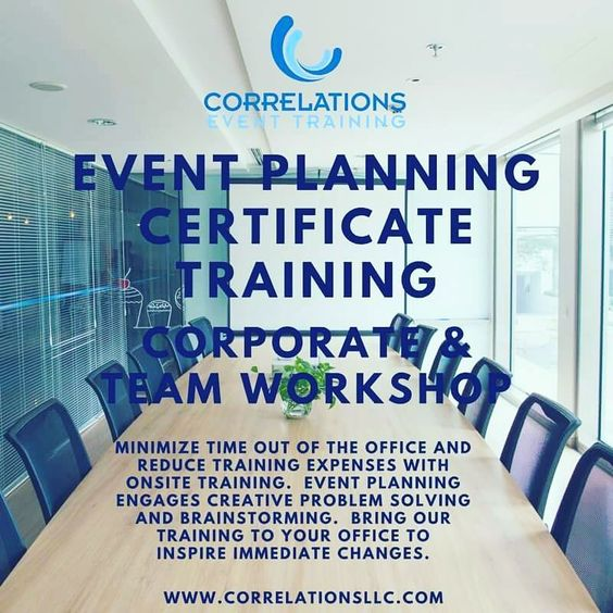 Did You Know You Can Bring The Event Planning Certificate Program