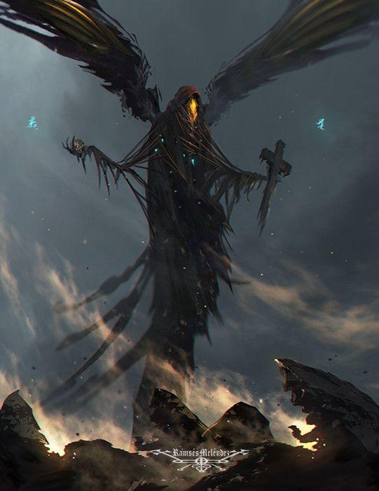 "morbidfantasy21: "" Zohar – demon concept by Ramses Melendez """