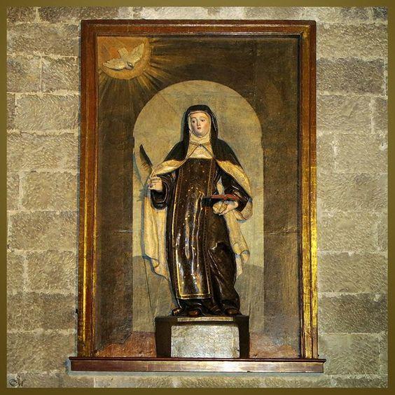 Sta. Teresa, de Juan Imberto, igl. de S. Benito, Valladolid.d España