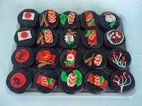 Cupcake - Comida japonesa <3