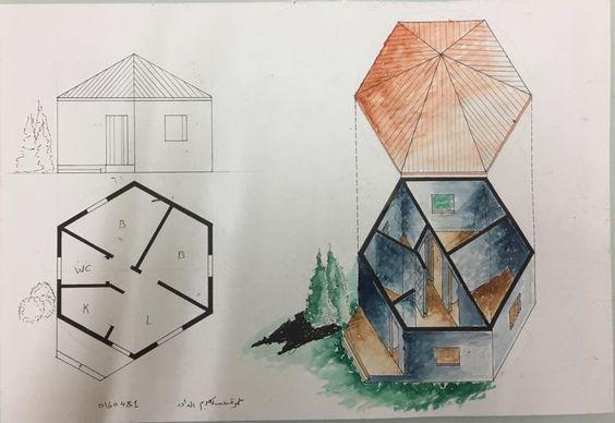 Hamza AL-Dawoudالرسم والاظهار المعماري (Arch. Drawing & Representation: