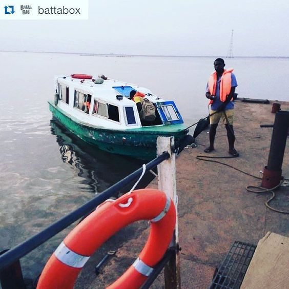 #Repost @battabox with @repostapp.  How to beat traffic...Travel by water! Ajah to Ikorodu in 7mins #lagos #nigeria #boatcruise #notraffic #lagoslagoon #jetty #local #naijatinz #kfb #instagood #instafollow #usefultip #livinginlekki #lekki #ajah #livinginlekki #lekki
