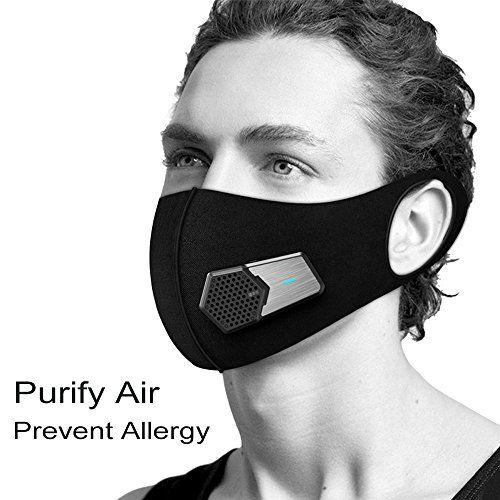 masque electrique anti pollution