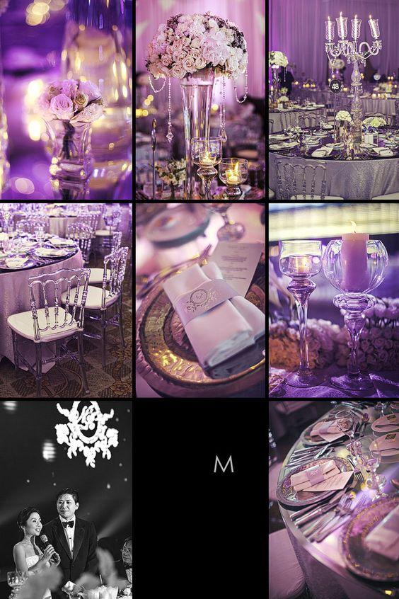 Inspire your purple wedding