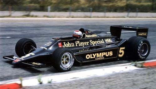 マリオ・アンドレッティ with John Player Special Mk. IV ...