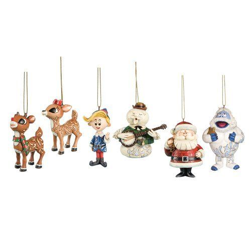 rudolph the red nosed reindeer and bumble lighted snow globe rudolph christmas decorations