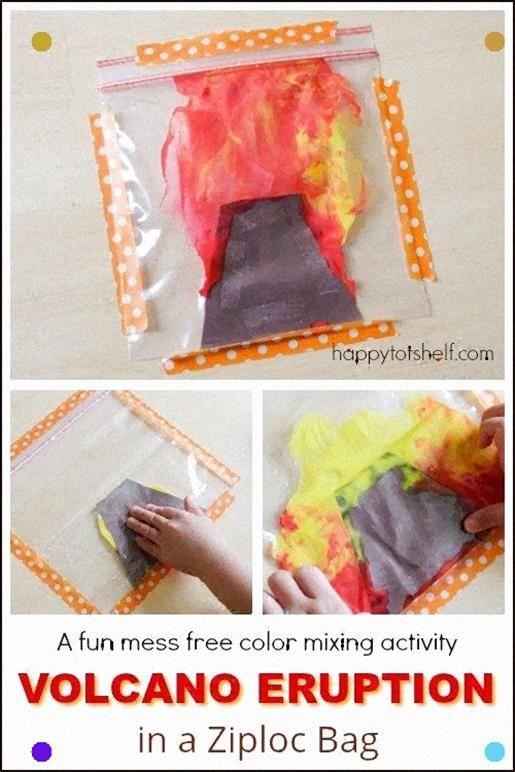Free Volcano Mini Booklet Mini Books Homeschool Science Elementary Science