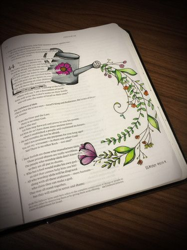 Isaiah 44 3 4 Arte Da Biblia Diario De Estudo Da Biblia E Arte