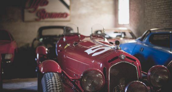 Vor dem Schrottplatz bewahrt: Ein Blick in die sagenhafte Righini Collection   Classic Driver Magazine