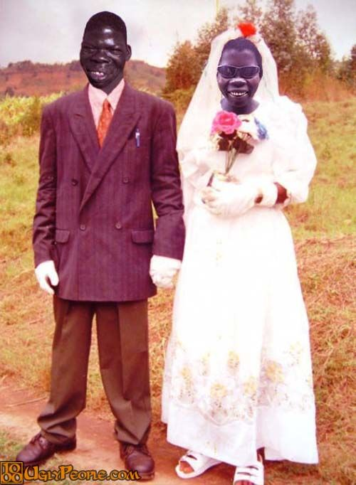 Brother And Sister Get Married – The Ugliest Couple In The ...