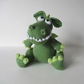 Ravelry: Griff the Dragon pattern by Amanda Berry