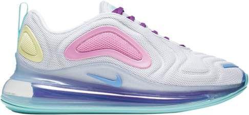 Nike Air Max 720 Running Shoes White Light Aqua Chalk Blue