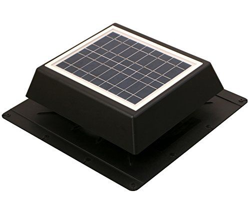 Attic Fan Solar Powered Exhaust Roof Mounted 450 Cfm Vent Https Www Amazon Com Dp B075ts67z5 Ref Solar Attic Fan Solar Powered Fan Solar Powered Attic Fan