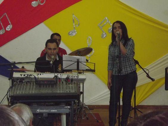 Participamos do festival da canção 2012 em Fênix
