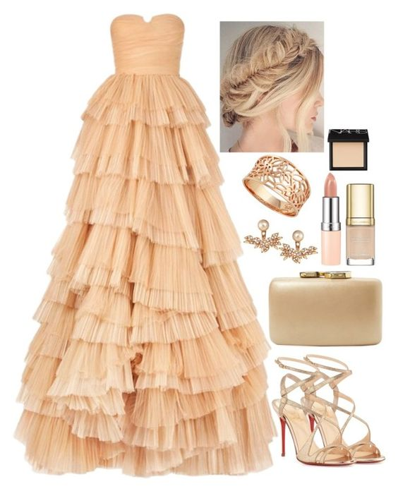 """Untitled #3646"" by natalyasidunova ❤ liked on Polyvore featuring Burberry, Christian Louboutin, Rimmel, Kayu, Joanna Laura Constantine, Dolce&Gabbana, NARS Cosmetics, women's clothing, women and female"