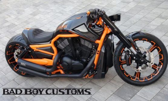 H D V Rod Custom Bike Carbon 5 By Bad Boy Customs V Rod Custom Custom Bikes V Rod