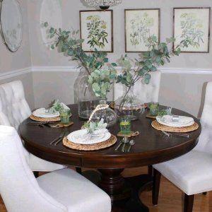 35++ Elegant round dining room cherry table set Inspiration